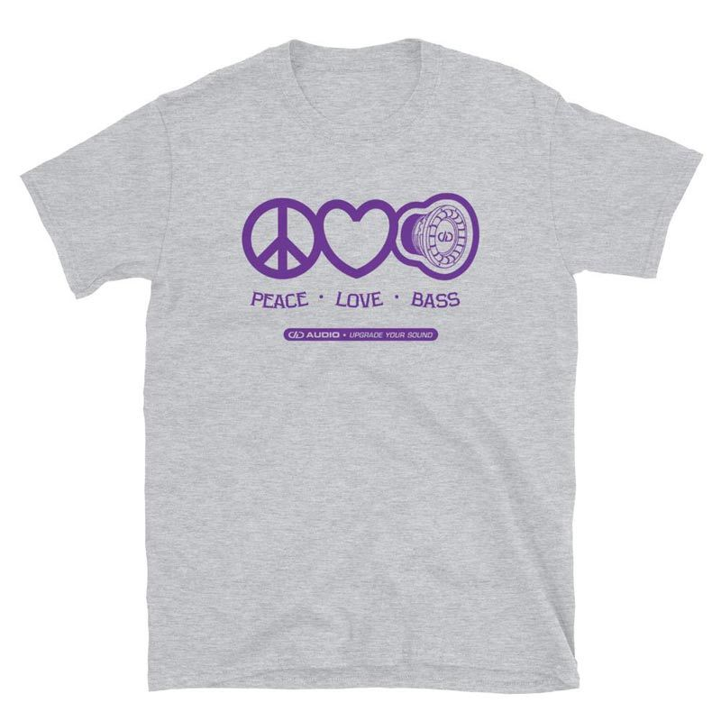 Product Image for Peace Love Bass 2 T-Shirt