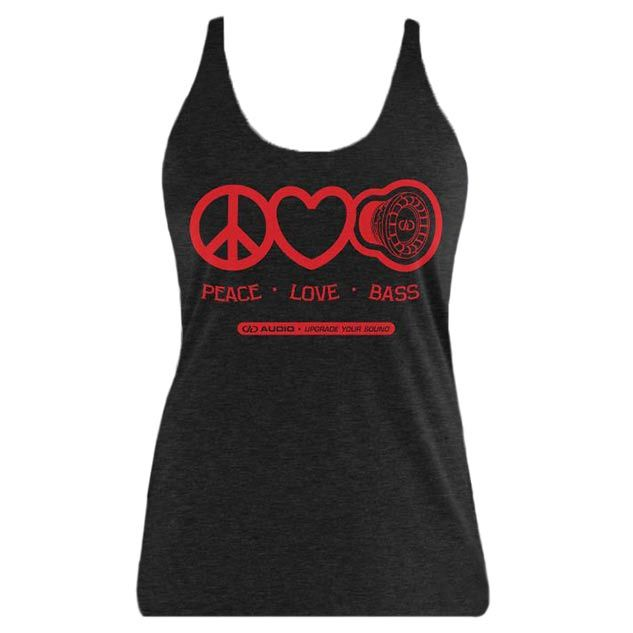 Product Image for Peace Love Bass Women's Tank