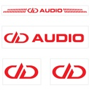 Official DD Audio Hat Bundle - Decals