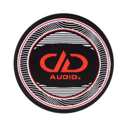 [TSDDPATCH] DD Audio Iron-on Patch